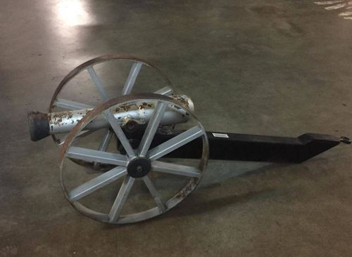 NSW Police have discovered a cannon during a search warrant at a rural NSW property.