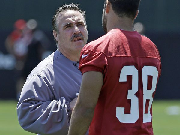 San Francisco 49ers coach 'peeing' on Hayne hype