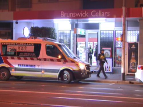 Bottle shop worker dragged behind car after chasing thieves