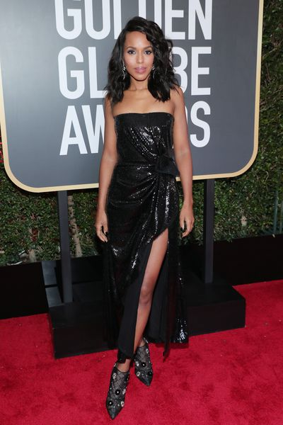 <em>Scandal</em> Star Kerry Washington in Prabal Gurung