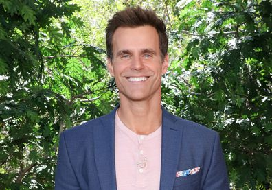 Cameron Mathison on the set of Hallmark's Home & Family at Universal Studios Hollywood on April 9, 2019