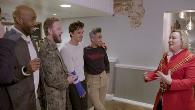 Queer Eye's Bobby Berk shares three simple tips for a closet makeover