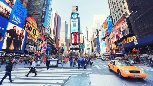 """One of the defenders allegedly sent a message stating that he wanted to """"car bomb"""" Times Square. (File image)"""