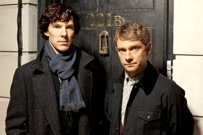 <b>Holmes and Watson:</b> Benedict Cumberbatch and Martin Freeman<br/><br/><b>The case:</b> Co-created by Doctor Who head writer Stephen Moffat, this incarnation of Sherlock Holmes dragged the detective into the modern day while still maintaining Arthur Conan Doyle's sense of mystery and deduction. Naturally, Cumberbatch's Holmes uses all the mod cons — including texting and blogging — to solve crimes.