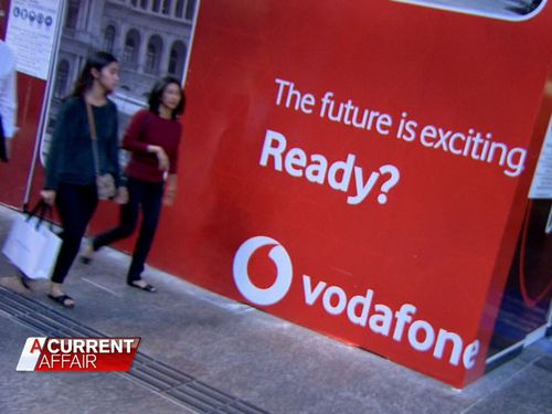 Vodafone Chief Strategy Officer Dan Lloyd told A Current Affair it's an exciting time for the company and also consumers.