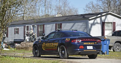 The 21-year-old was arrested after he drove up with a gun to his grandmother's house.