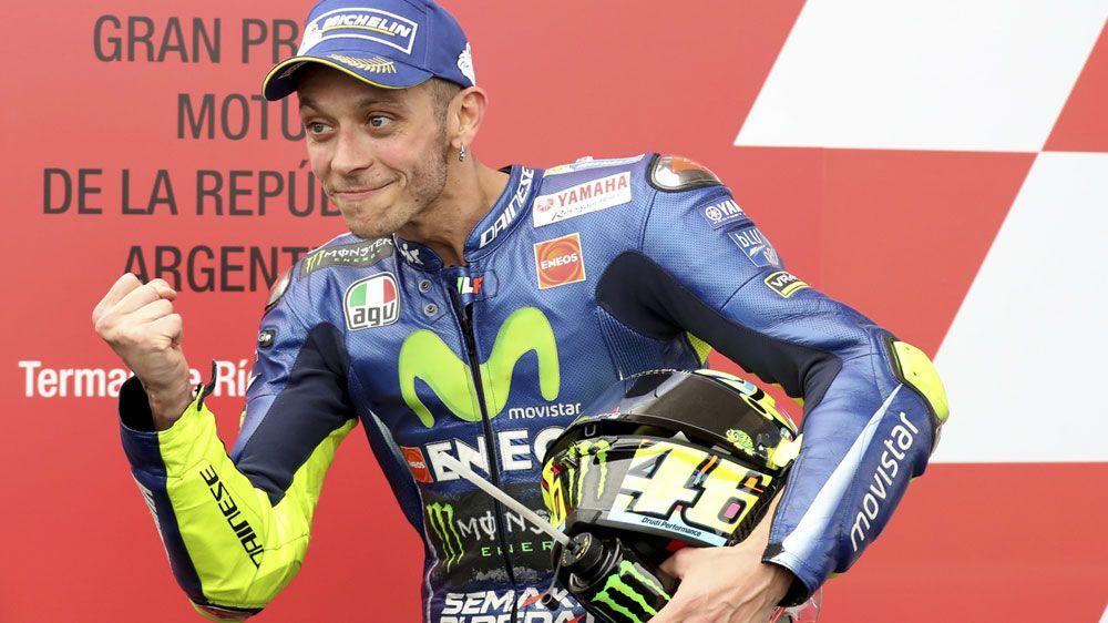 MotoGP star Rossi's surgery for broken leg
