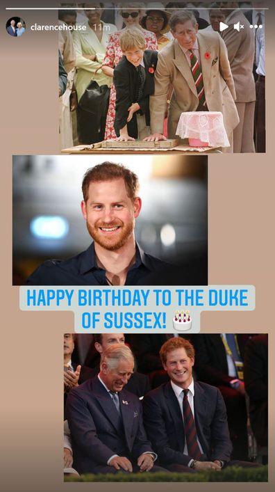 Clarence House, Prince Charles, Prince Harry