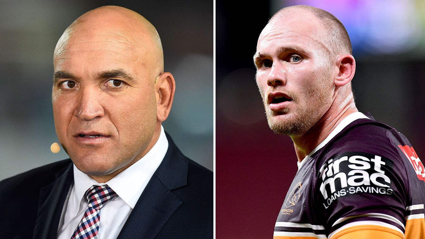 Gorden Tallis, Matt Lodge