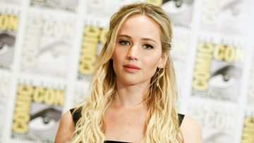 Jennifer Lawrence has tackled sexism in Hollywood in an online essay. (AAP)
