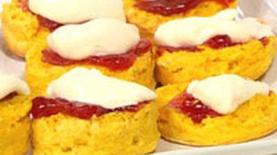"<a href=""http://kitchen.nine.com.au/2016/05/17/16/39/pumpkin-scones"" target=""_top"">Pumpkin scones</a> recipe"