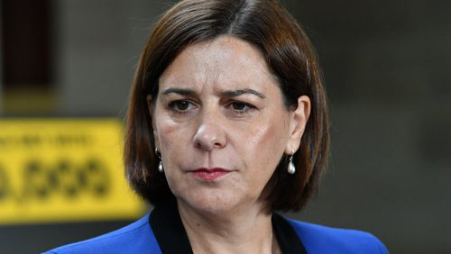 Queensland LNP leader Deb Frecklington. Picture: AAP