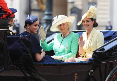 Trooping the Colour: Meghan, Camilla and Kate