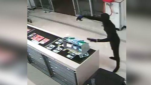 Police hunt for 'cat burglar' captured on CCTV in Newcastle armed robbery