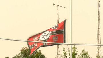 Victorian town rallies against neo-Nazi neighbour