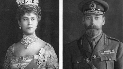 King George V and Queen Consort Mary, 1914