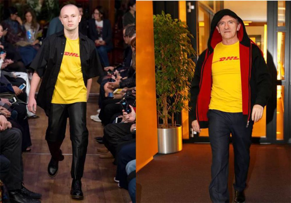 DHL CEO is amused by the delivery company's newfound chicness