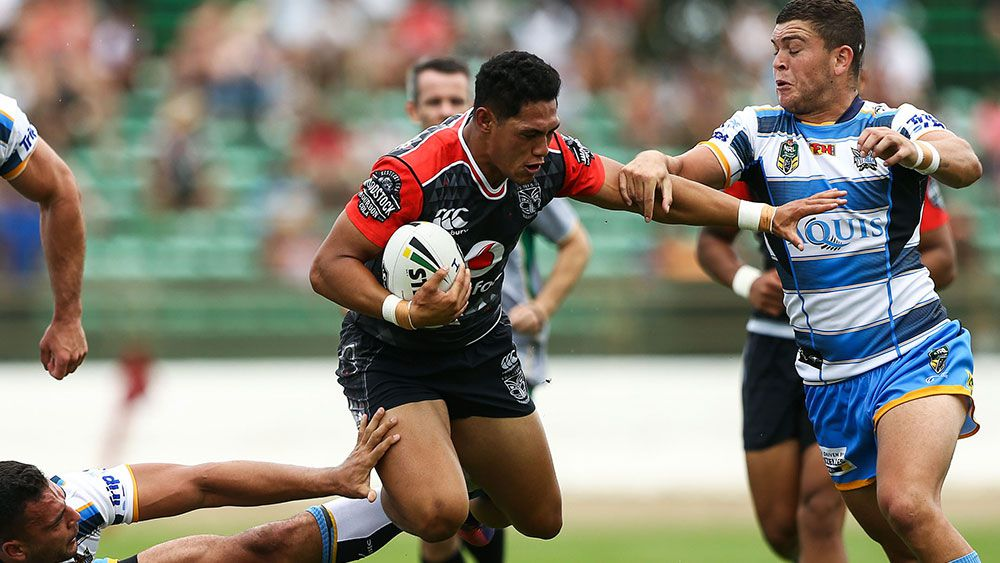 Captain Roger Tuivasa-Sheck was the star for the Warriors. (Getty)