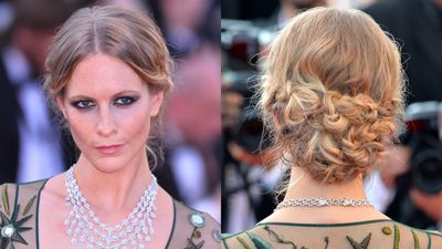 <p>Poppy Delevingne embraced a whole lot of plaiting at the <em>Carol</em> premiere at Cannes.</p>