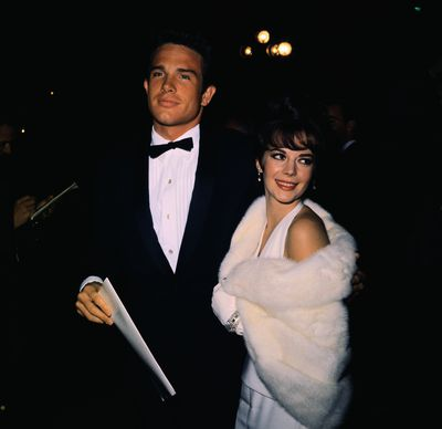Warren Beatty and Natalie Wood at the 1962 Academy Awards