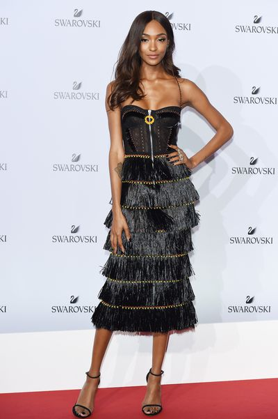 Jourdan Dunn - no words really. Except OMG.