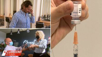 Small businesses confused over vaccination status of employee.