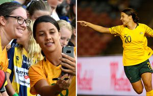 The Matildas' Sam Kerr leading the new generation of Australian women's football