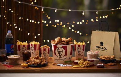 KFC home delivery with Menulog