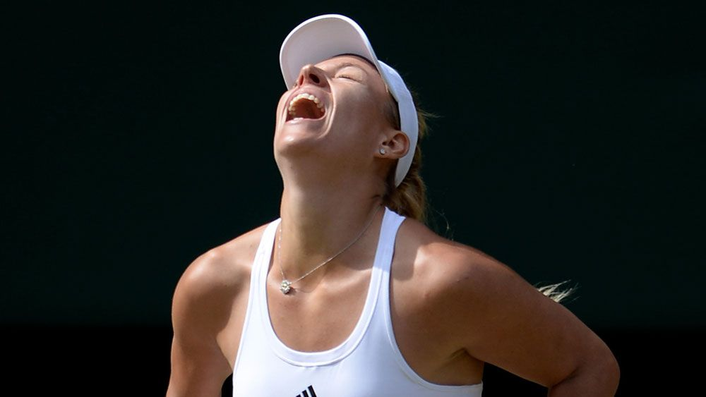 Kerber just as hungry as Williams in final
