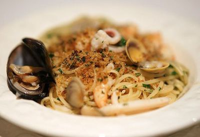 "Recipe:&nbsp;<a href=""http://kitchen.nine.com.au/2016/05/05/10/42/sydney-seafood-schools-linguine-ai-frutti-di-mare-with-fruits-of-the-sea"" target=""_top"">Sydney Seafood School's linguine ai frutti di mare (with fruits of the sea)</a>"