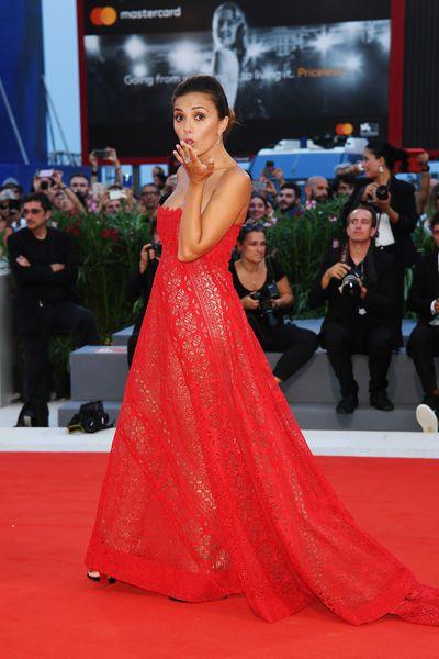 Serena Rossi in Mario Diceat the 2017 Venice Film Festival