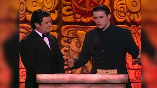 Matt LeBlanc's performance at the 1998 Logies didn't win him many friends.