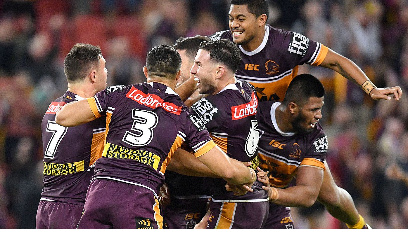 Boyd inspired the Broncos' win over Parramatta