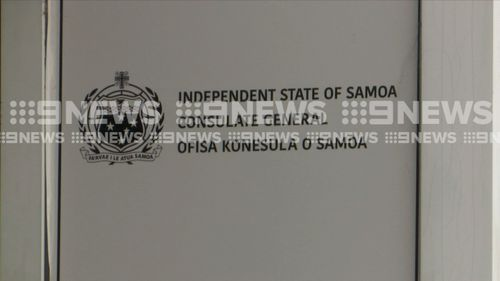 The A4 envelope was delivered to the Consulate General of the Independent State of Samoa, where two employees handled it but did not open it.