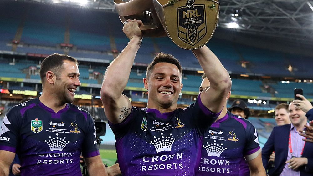 NRL grand final: Melbourne Storm halfback Cooper Cronk to decide playing future after premiership win