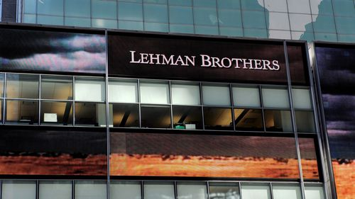 Lehman Brothers world headquarters in New York City (AAP).