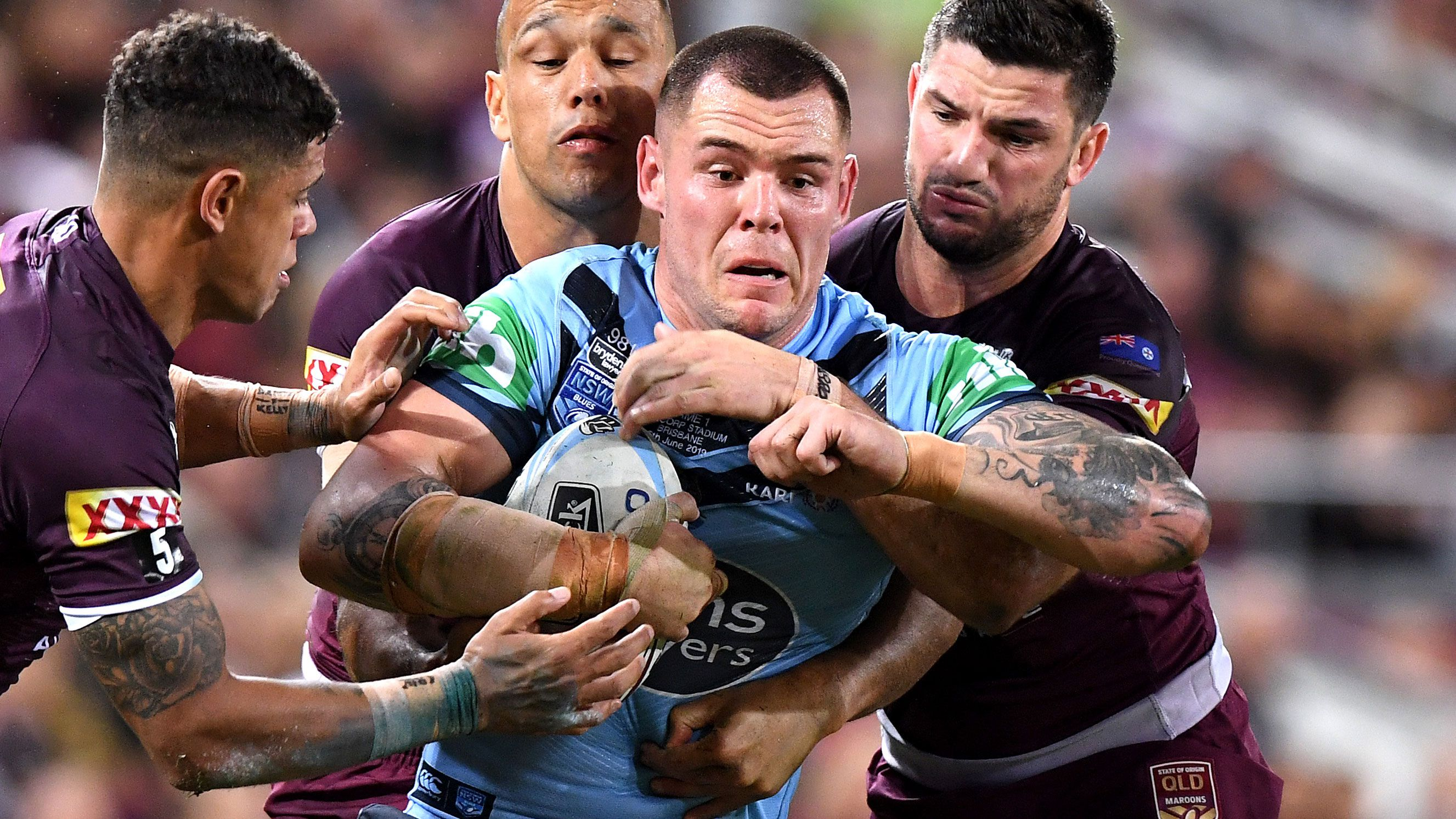 Huge blow for NSW, Knights after fractured wrist confirmed for David Klemmer
