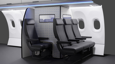 Airbus' PaxCASE acts as a COVID tent to isolation infections passengers