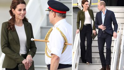 Duke and Duchess of Cambridge arrive in Cyprus for a military Christmas party, December 2018