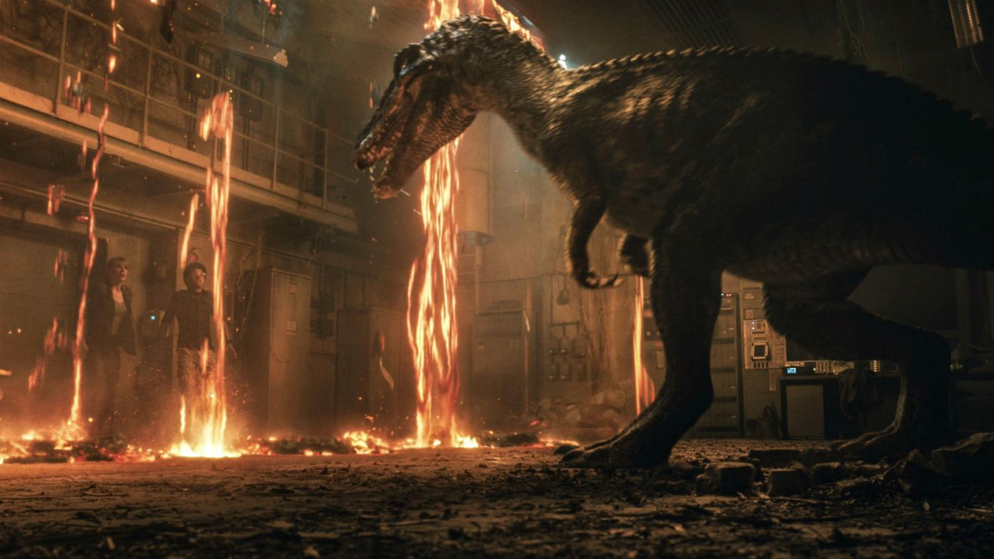 New 'Jurassic World' trailer shows volcano eruptions, vicious dinosaurs and Jeff Goldblum