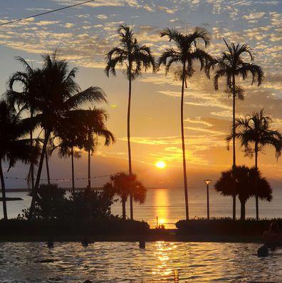 Darwin sunsets