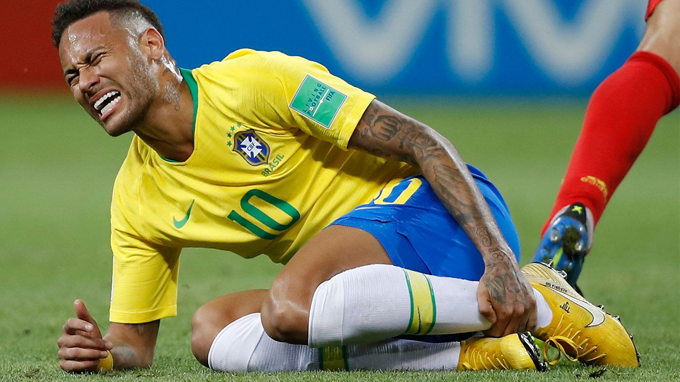 Neymar finally admits to World Cup 'exaggerating'