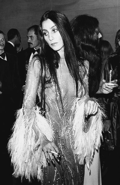 Cher does high octane glamour in 1970.