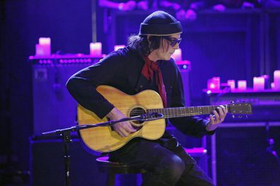 """Musical guest David Roback of Mazzy Star performs """"California"""" on Monday, November 25, 2013."""