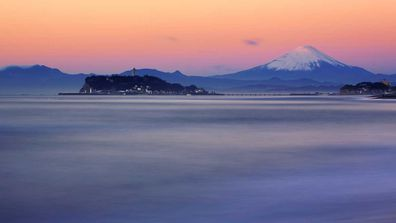 Mt Fuji view from Kamakura