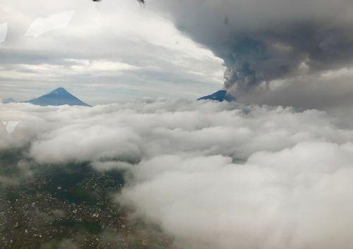Guatemala's Volcan de Fuego has had its biggest eruption since 1974. (Rachael Dyer)