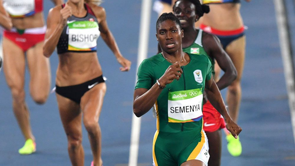 Semenya wins gold in Olympic 800m