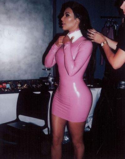 Kim Kardashian in Atsuko Kudo for an Allure magazine shoot, September, 2017