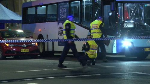 Samuel Thomas was killed after being hit by a bus on Sydney's Elizabeth Street on June 17, 2018.