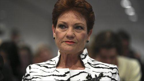 Senator Pauline Hanson was among the audience. (Image: AAP)